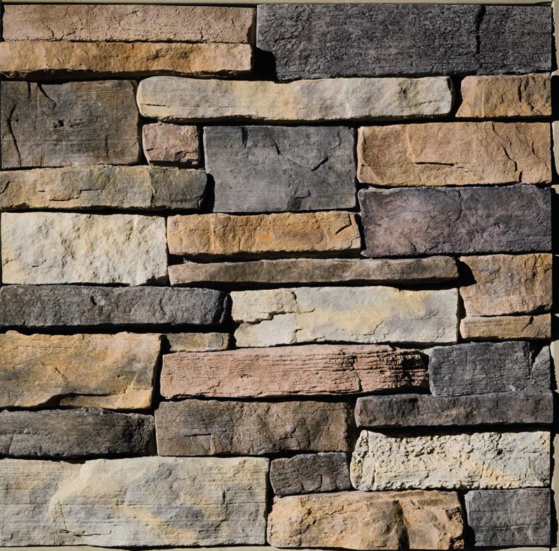 close up profile of Eldorado Stone Weather Edge in Amber Falls