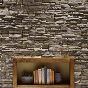 Eldorado stacked stone nantucket on wall