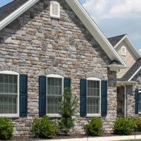 Stonecraft heritage pennsylvania facade on home