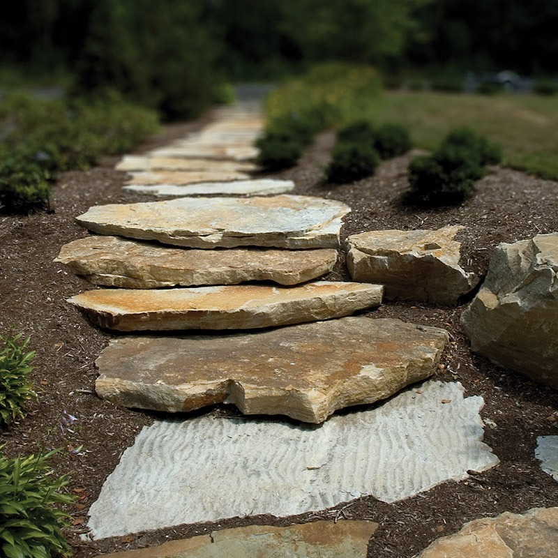 Champlain south bay slabs used on walkway