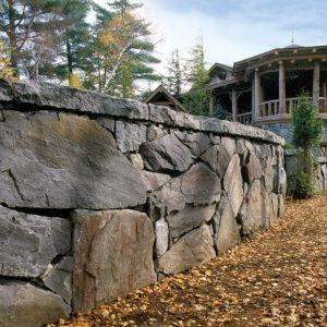 Champlain american granite wall