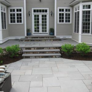 Thermal Blue Bluestone patio
