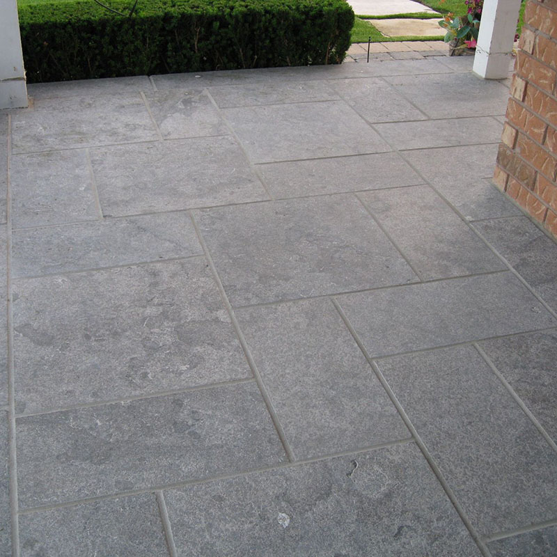 Hampton limestone walkway/patio