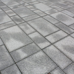 Salt and pepper granite pattern close up