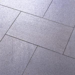 Salt and pepper granite close up