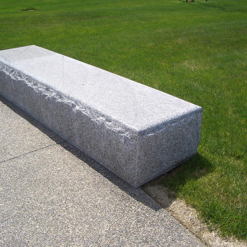 Big block bench built with stanstead granite