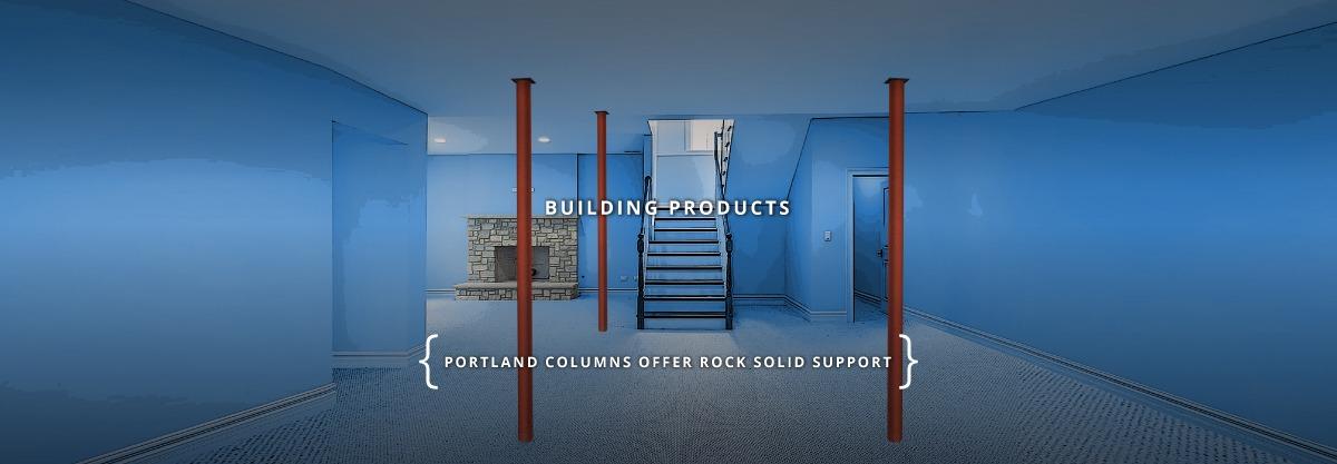 basement support lally column