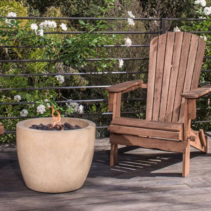 Eldorado artisan fire bowls portland stone ware co inc for Eldorado outdoor fire bowl