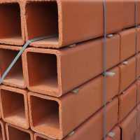 Superior Clay stacked flue