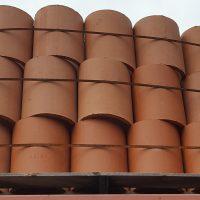 Superior Clay round flue stacked