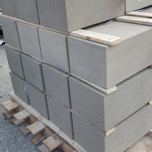 Special cut blocks in Thermal Bluestone on a pallet