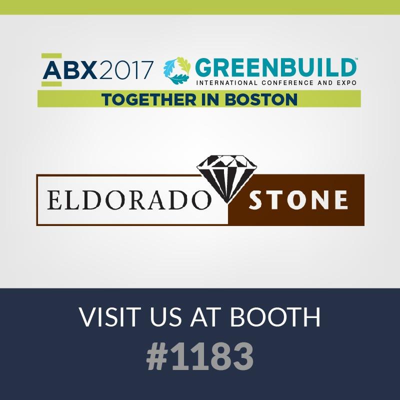 2017 abx expo, portland stone ware and eldorado stone