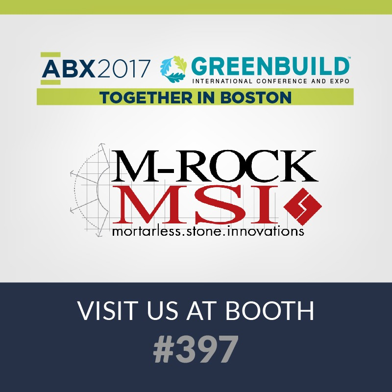 2017 abx expo, portland stone ware and m-rock