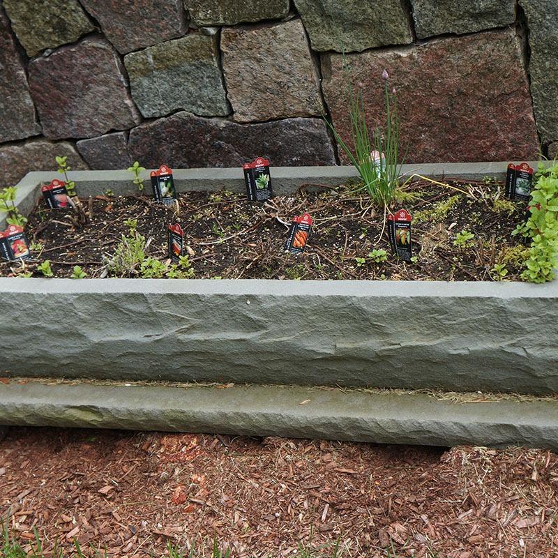 Custom bluestone planter