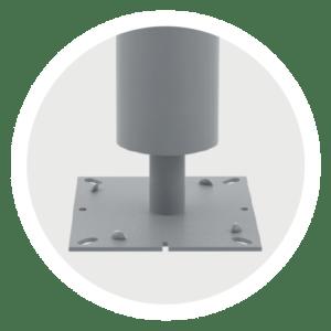 adjustable basement column