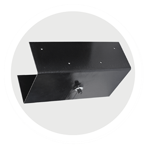 saddle plate for decing