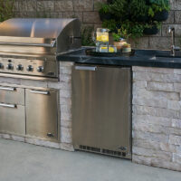 Eldorado Stone Outdoor Kitchen Cabinets