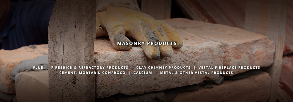 firebrick, flue, clay products