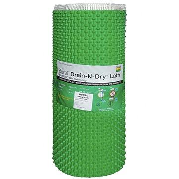 roll of Boral™ Drain-N-Dry™ Lath