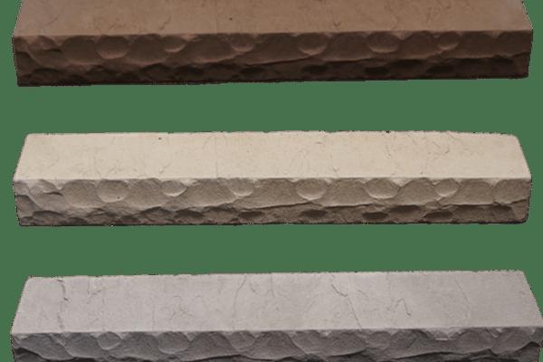 StoneCraft rockface sills in grey, espresso and cream