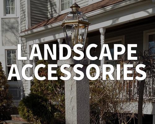 lamp post, landscape accessories