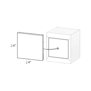 kindred outdoor cabinet end cap