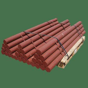6 ft x 3.5 od red column