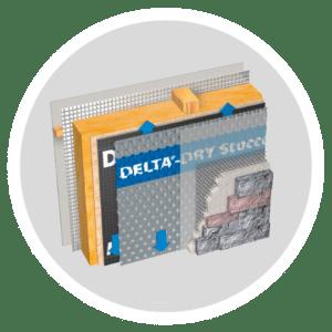 DELTA®-DRY STUCCO & STONE